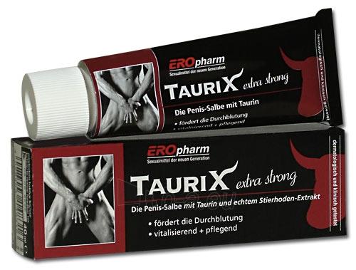 Kremas vyrams TauriX extra strong 40 ml Paveikslėlis 1 iš 1 310820021901