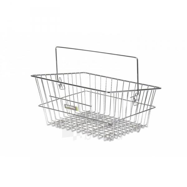 Krepšelis Cadiz Flex chrome 40x30x17 cm for front and back Paveikslėlis 1 iš 1 310820078075