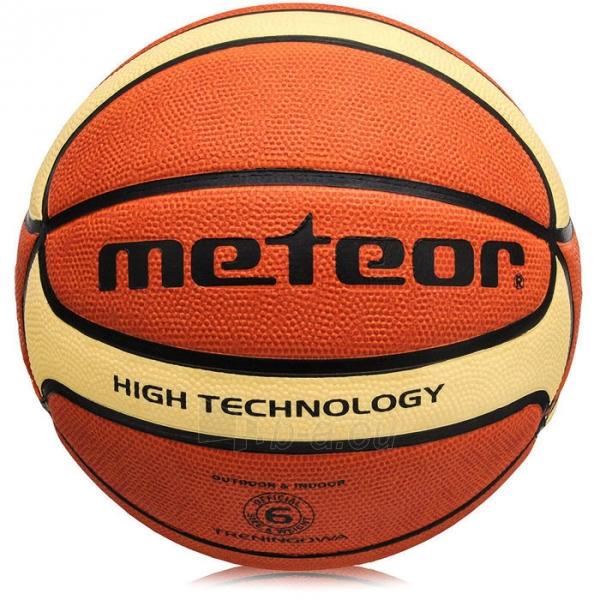 Krepšinio kamuolys Meteor Training 6 Paveikslėlis 1 iš 2 310820090211