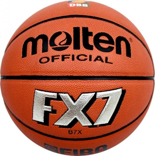 Krepšinio kamuolys Molten B7X Paveikslėlis 1 iš 1 310820027482