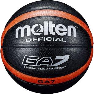 Krepšinio kamuolys MOLTEN BGA7-KO Paveikslėlis 1 iš 1 250520101078