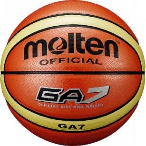 Krepšinio kamuolys MOLTEN BGA7 Paveikslėlis 1 iš 1 250520101077