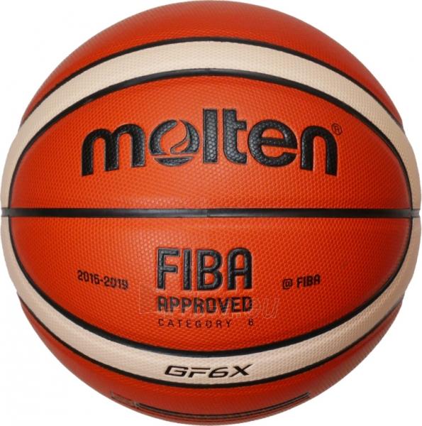 Krepšinio kamuolys Molten BGF6X-X Paveikslėlis 1 iš 1 310820027487