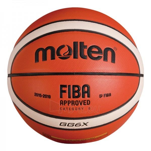 Krepšinio kamuolys Molten BGG6X-XFIBA Paveikslėlis 1 iš 1 310820027490