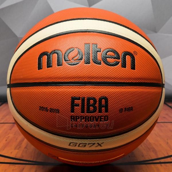 Krepšinio kamuolys Molten BGG7X-X Paveikslėlis 1 iš 1 310820027493