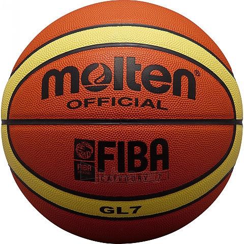 Krepšinio kamuolys molten BGL7 FIBA Paveikslėlis 1 iš 1 310820027485