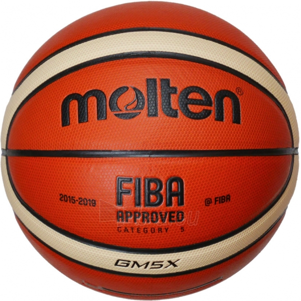 Krepšinio kamuolys Molten BGM5X Paveikslėlis 1 iš 1 310820027495