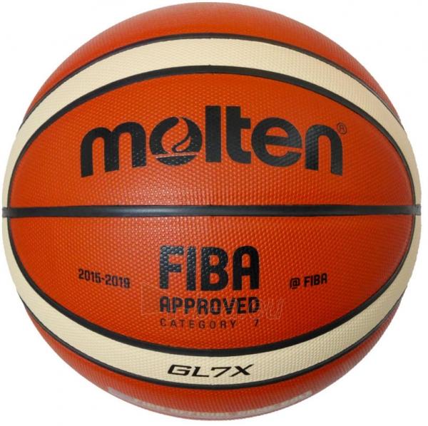 Krepšinio kamuolys Molten Competition BGL7X-X Paveikslėlis 1 iš 1 310820027771