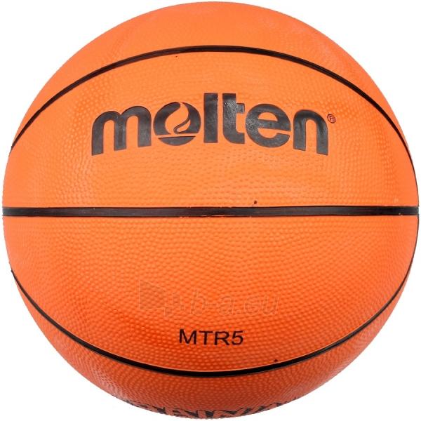 Krepšinio kamuolys Molten MTR5 5 Paveikslėlis 1 iš 1 310820022321