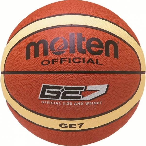 Krepšinio kamuolys Monten training BGE7 Paveikslėlis 1 iš 1 310820022323