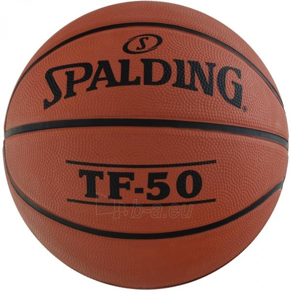Krepšinio kamuolys Spalding NBA TF-50 2017 73851Z Paveikslėlis 1 iš 3 310820192035
