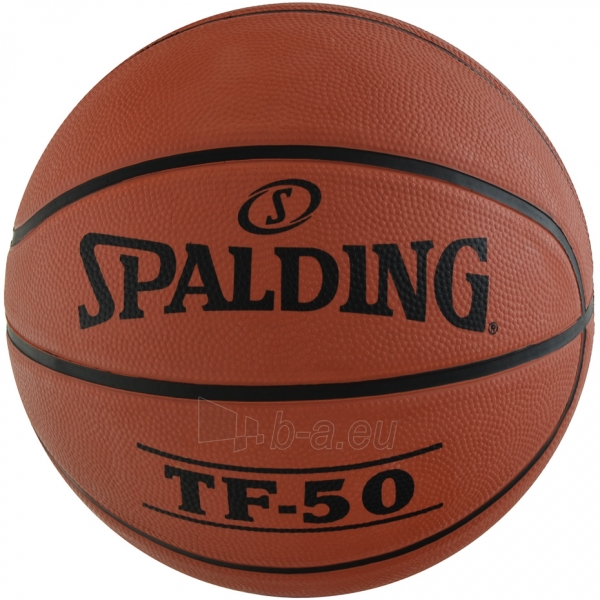 Krepšinio kamuolys Spalding NBA TF-50 2017 73851Z Paveikslėlis 2 iš 3 310820192035
