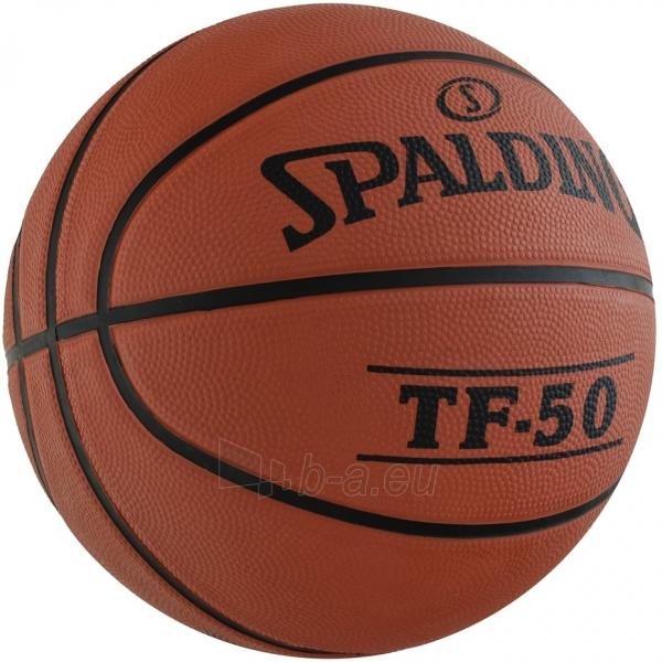 Krepšinio kamuolys Spalding NBA TF-50 2017 73851Z Paveikslėlis 3 iš 3 310820192035