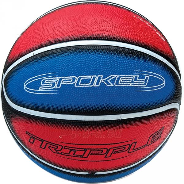 Krepšinio kamuolys Spokey TRIPPLE Red/blue Paveikslėlis 1 iš 1 310820005945