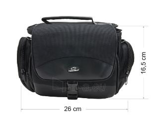 Krepšys/Dėklas Esperanza ET147 skirtas fotoaparatui ir priedams |Juodas Paveikslėlis 4 iš 9 2502220409001420