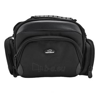 Krepšys/Dėklas Esperanza ET150 skirtas fotoaparatui ir priedams |Juodas Paveikslėlis 1 iš 9 2502220409001423
