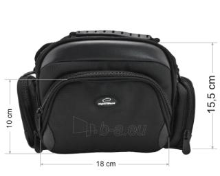 Krepšys/Dėklas Esperanza ET150 skirtas fotoaparatui ir priedams |Juodas Paveikslėlis 6 iš 9 2502220409001423