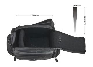 Krepšys/Dėklas Esperanza ET150 skirtas fotoaparatui ir priedams |Juodas Paveikslėlis 7 iš 9 2502220409001423