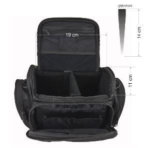 Krepšys/Dėklas Esperanza ET151 skirtas fotoaparatui ir priedams |Juodas Paveikslėlis 4 iš 10 2502220409001424