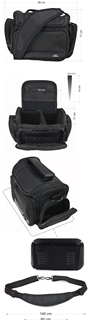 Krepšys/Dėklas Esperanza ET151 skirtas fotoaparatui ir priedams |Juodas Paveikslėlis 3 iš 10 2502220409001424