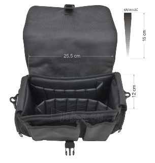 Krepšys/Dėklas Esperanza ET159 skirtas fotoaparatui ir priedams |Juodas Paveikslėlis 6 iš 7 2502220409001428