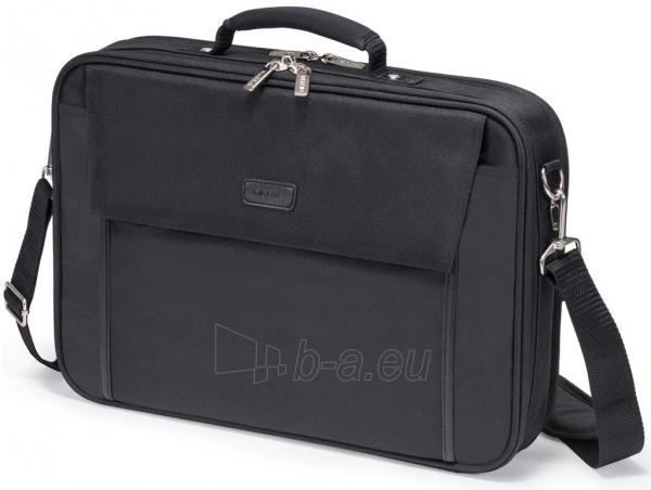 Krepšys Dicota Multi Plus BASE 15 - 17.3 Black Paveikslėlis 1 iš 4 250256202880