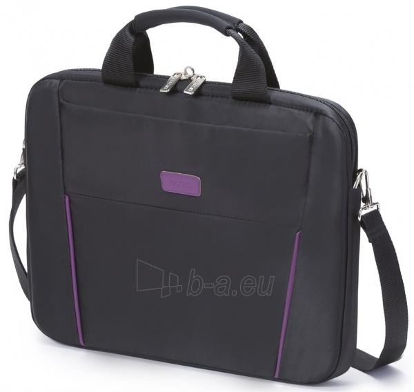 Krepšys Dicota Slim 14 - 15.6 Juodai violetinis Paveikslėlis 1 iš 7 250256202797