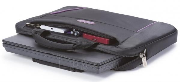 Krepšys Dicota Slim 14 - 15.6 Juodai violetinis Paveikslėlis 2 iš 7 250256202797