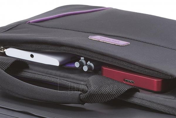 Krepšys Dicota Slim 14 - 15.6 Juodai violetinis Paveikslėlis 3 iš 7 250256202797