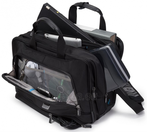 Krepšys Dicota Top Traveller Twin PRO 14-15.6 neš. komp., spausd., projektoriu Paveikslėlis 2 iš 4 250256202812
