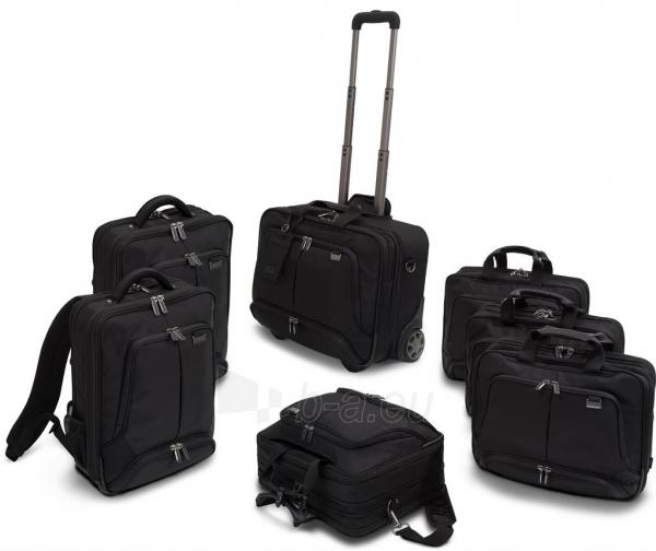 Krepšys Dicota Top Traveller Twin PRO 14-15.6 neš. komp., spausd., projektoriu Paveikslėlis 4 iš 4 250256202812