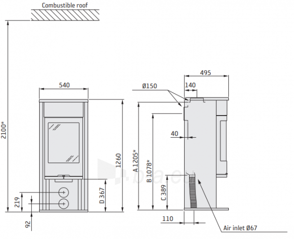 Krosnelė CONTURA C610:6 Style, pilkos spalvos, kompl (798400, 803647, 398269) Paveikslėlis 2 iš 2 310820254612
