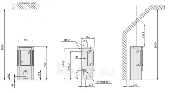 Krosnelė CONTURA C856G:1 Style, balta (998454, 998663) Paveikslėlis 2 iš 2 310820254704