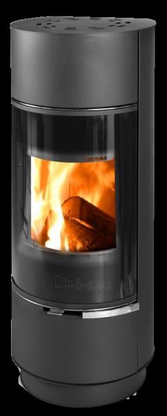 Krosnelė židinys akumuliacinė Thorma Atika Steel, juoda Paveikslėlis 2 iš 2 310820236081