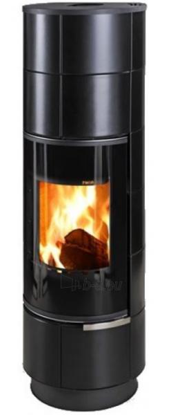 Oven židinys akumuliacinė Thorma Delia Ceramic Plus, juodos spalvos keramika Paveikslėlis 2 iš 2 310820236070