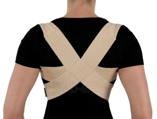 Krūtinės-juosmens įtvaras KR1-1R, kūno spalvos Paveikslėlis 1 iš 2 310820218235