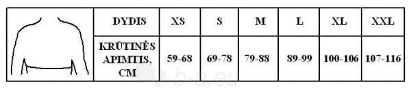 Krūtinės-juosmens įtvaras KR1-1R, kūno spalvos Paveikslėlis 2 iš 2 310820218235
