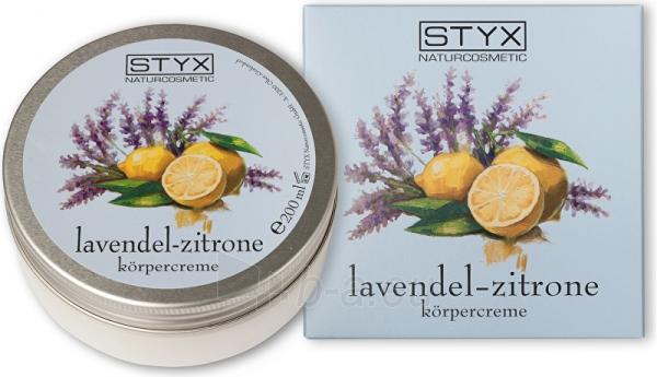 Kūno kremas Styx Tělo Cream Levandule - Lemon ( Body Cream) 200 ml Paveikslėlis 1 iš 1 310820176847