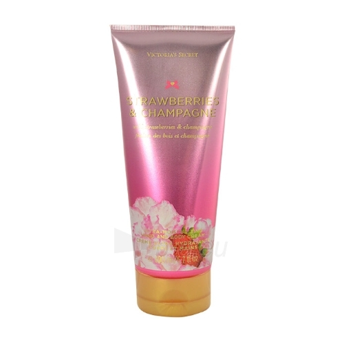 Kūno kremas Victoria Secret Strawberries & Champagne Body cream 200ml Paveikslėlis 1 iš 1 250850201455