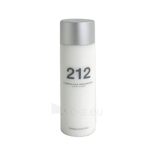 Body lotion Carolina Herrera 212 Body lotion 200mll (damaged box) Paveikslėlis 1 iš 1 250850200591