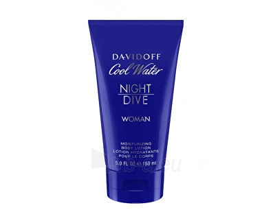 Body lotion Davidoff Cool Water Night Dive For Women 150 ml Paveikslėlis 1 iš 1 310820042395
