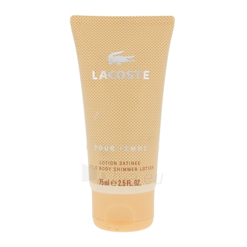 Body lotion Lacoste Pour Femme Body lotion 75ml Paveikslėlis 1 iš 1 250850200415
