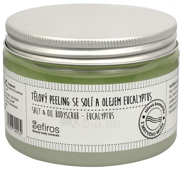 Kūno pylingas Sefiros Eucalyptus (Salt & Oil Bodyscrub) 300 ml Paveikslėlis 1 iš 1 310820058280