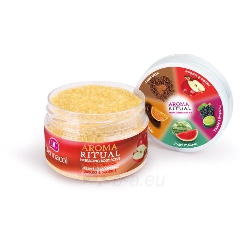 Kūno šveitiklis Dermacol Aroma Ritual Body Scrub Apple & Cinnamon Cosmetic 200g Paveikslėlis 1 iš 1 310820107008