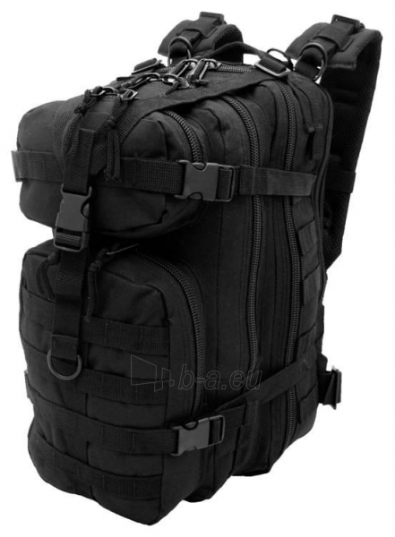 Kuprinė ASSAULT BACKPACK CAMO 25L, black Paveikslėlis 1 iš 1 251530500106