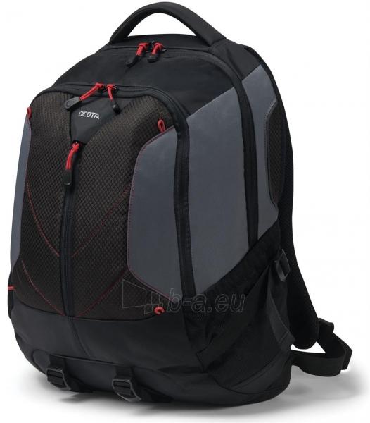 Kuprinė Dicota Backpack Ride 14-15.6 black Paveikslėlis 1 iš 8 310820013511