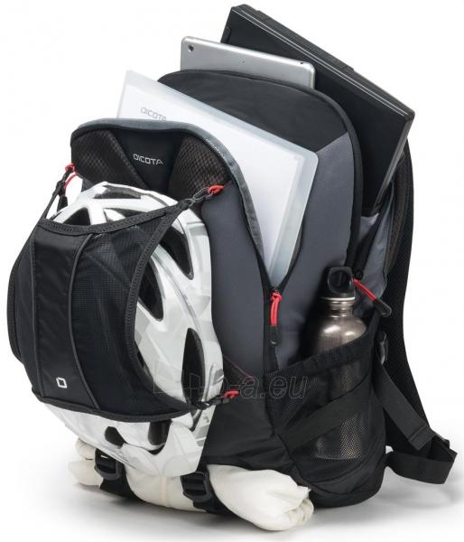 Kuprinė Dicota Backpack Ride 14-15.6 black Paveikslėlis 2 iš 8 310820013511