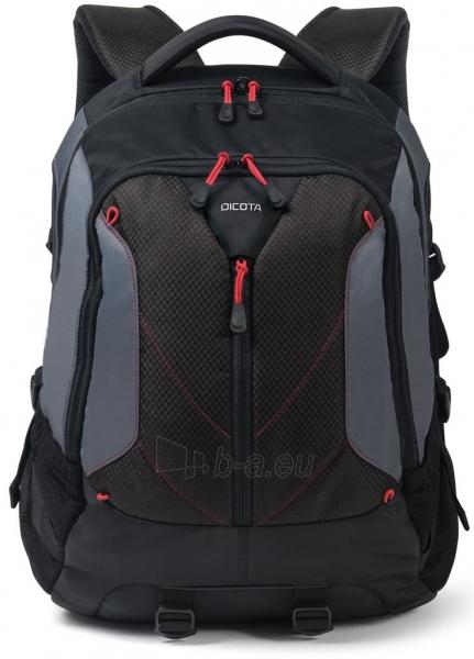 Kuprinė Dicota Backpack Ride 14-15.6 black Paveikslėlis 3 iš 8 310820013511