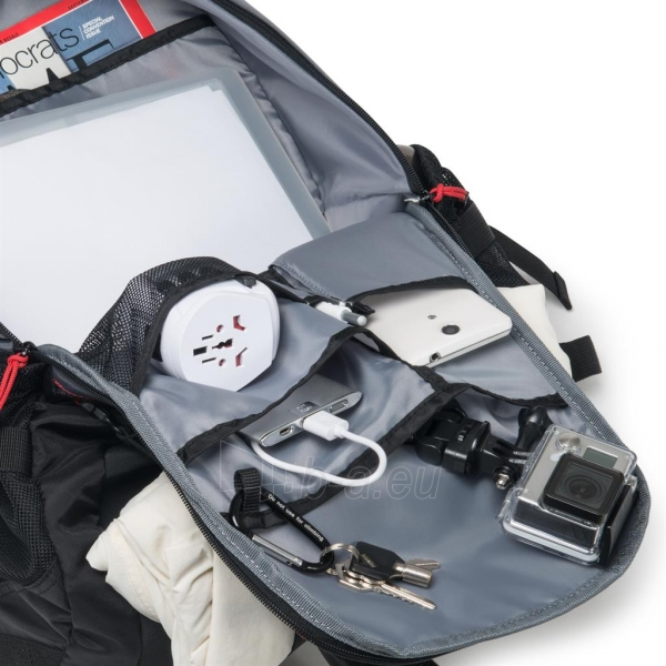Kuprinė Dicota Backpack Ride 14-15.6 black Paveikslėlis 6 iš 8 310820013511