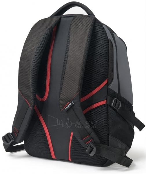 Kuprinė Dicota Backpack Ride 14-15.6 black Paveikslėlis 7 iš 8 310820013511